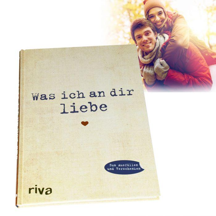 Buch zum Ausfüllen - Was ich an Dir liebe