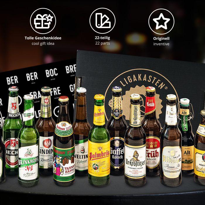 Ligakasten - 18 Biere aus den Städten der Erstligavereine