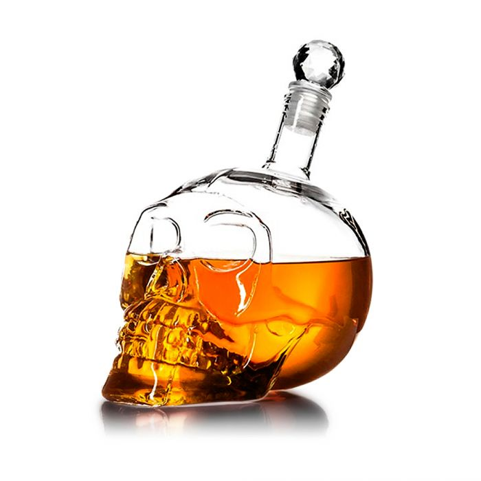 Whisky Karaffe Totenkopf - Crystal Head Bottle