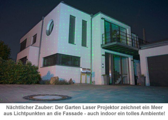 Garten Laser Projektor - Sternenregen