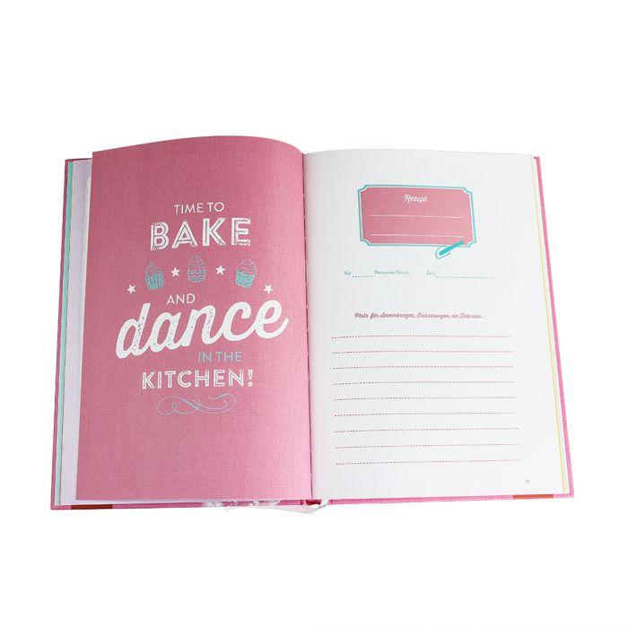 Rezeptbuch zum Ausfüllen - Baking Queen