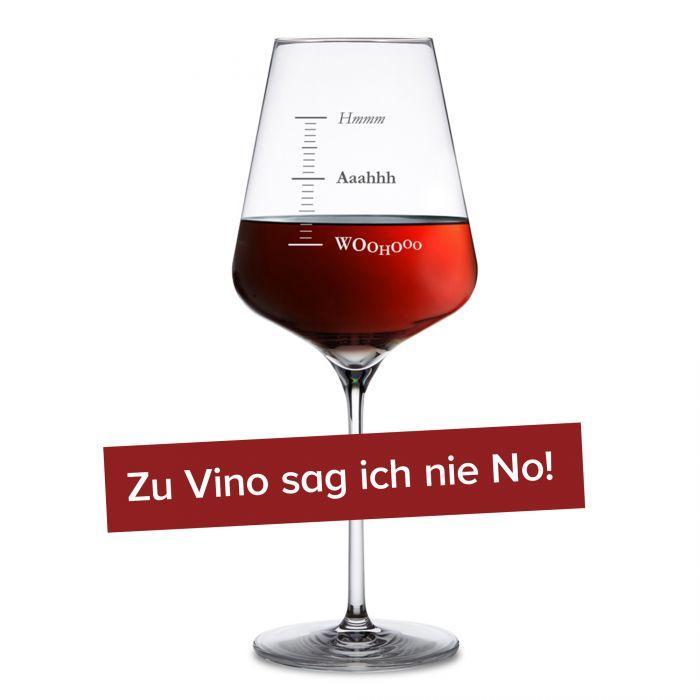 Weinglas mit Gravur - Woohooo
