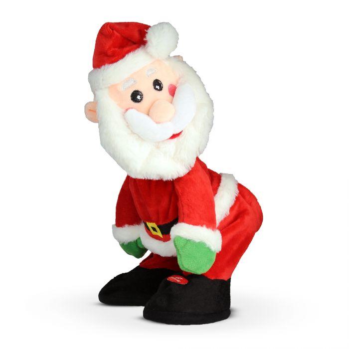 Obszöner singender Weihnachtsmann