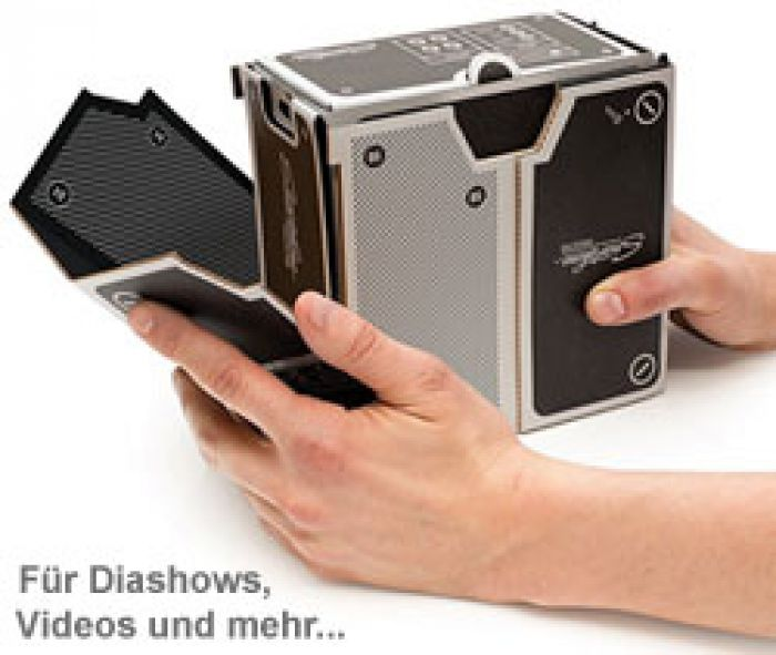 Smartphone Projektor zum Selberbauen