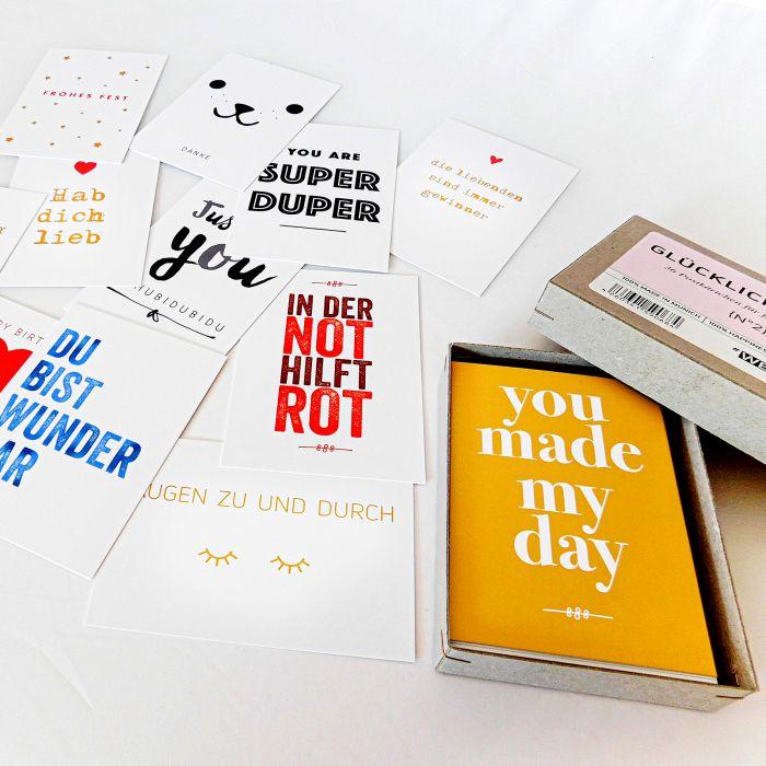 Glücklichmacher Box - 36 Karten für fast alle Anliegen