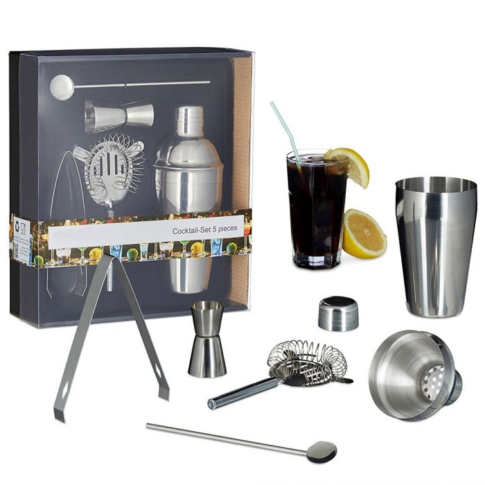 Cocktail Set 5-teilig - Barkeeper Edition