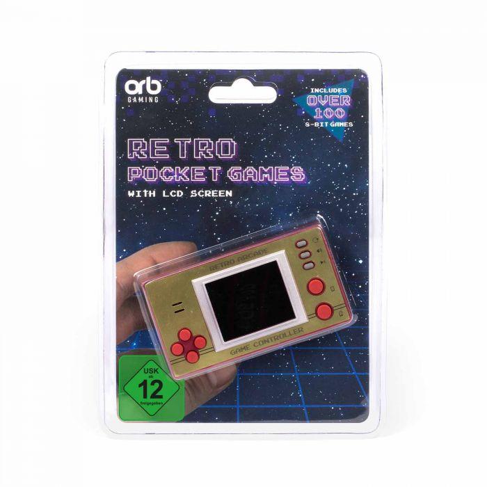 Retro Mini Spielekonsole mit LCD Display