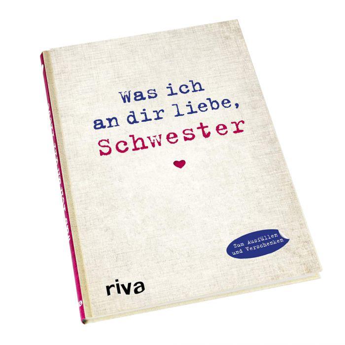 Buch zum Ausfüllen - Was ich an Dir liebe, Schwester