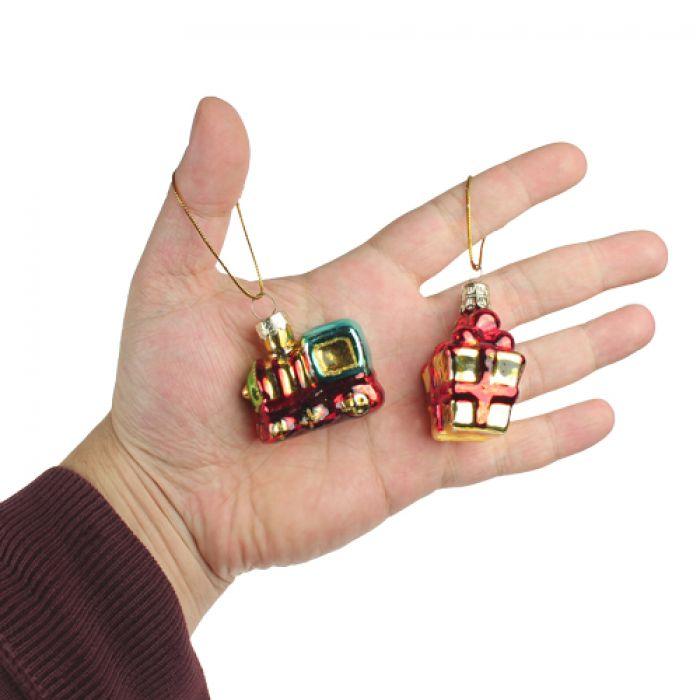 Mini Weihnachtsbaumschmuck - 4er Set