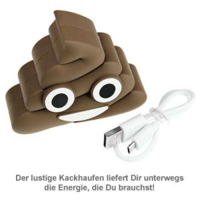 Emoji Powerbank - Kackhaufen