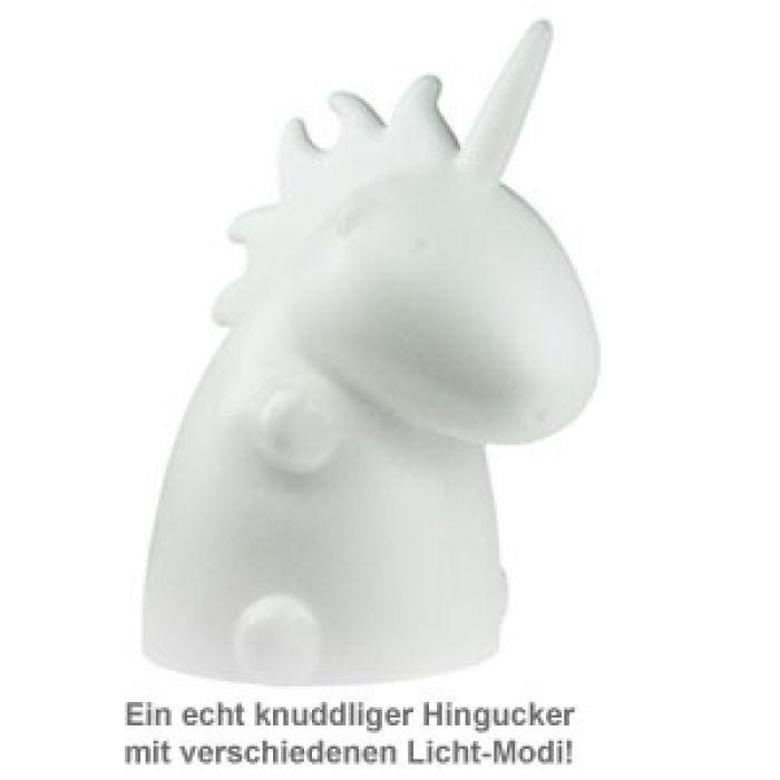 Einhorn Lampe XL - Weiß