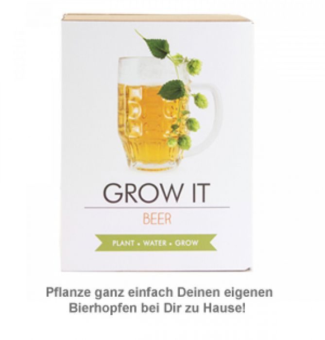 Bier Hopfen Set - Selber pflanzen