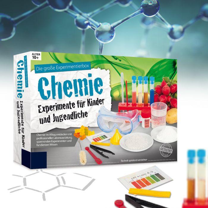 Experimentierkasten Chemie für Kinder und Jugendliche ab 10