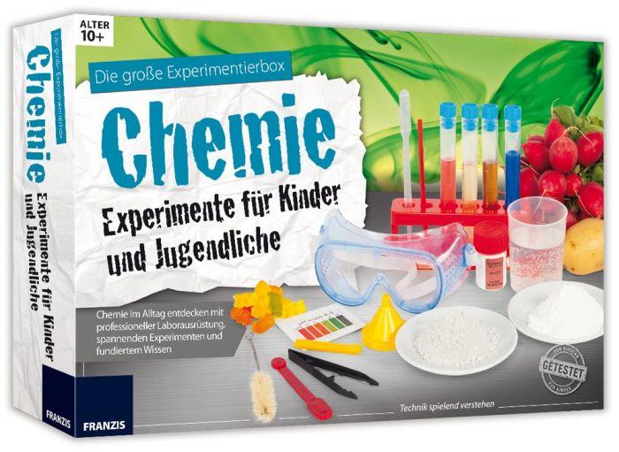 Experimentierkasten Chemie für Kinder und Jugendliche