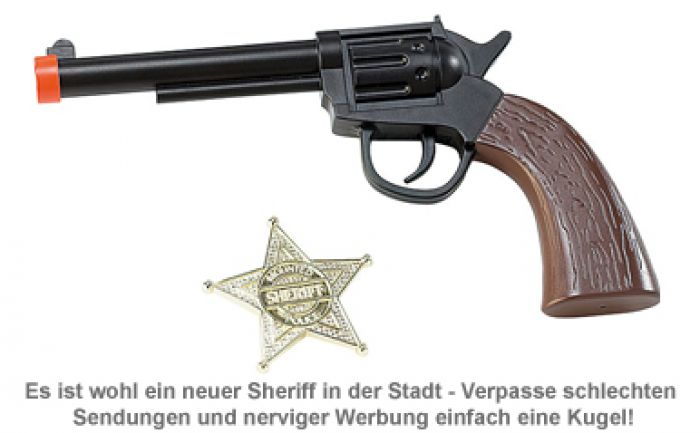 Universal Fernbedienung - Spielzeugpistole