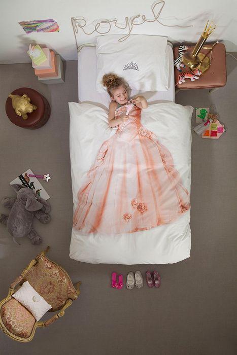Kinder Bettwäsche Set - Prinzessin