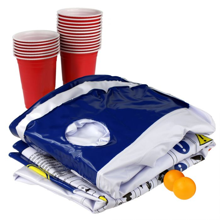 Aufblasbarer Bier Pong Tisch - Luftmatratze