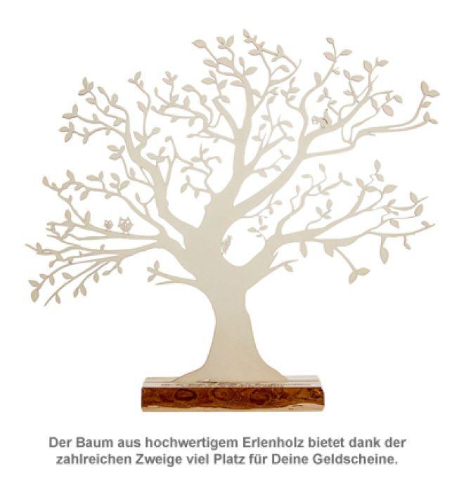 Baum mit Sockel graviert - Konfirmation (groß)