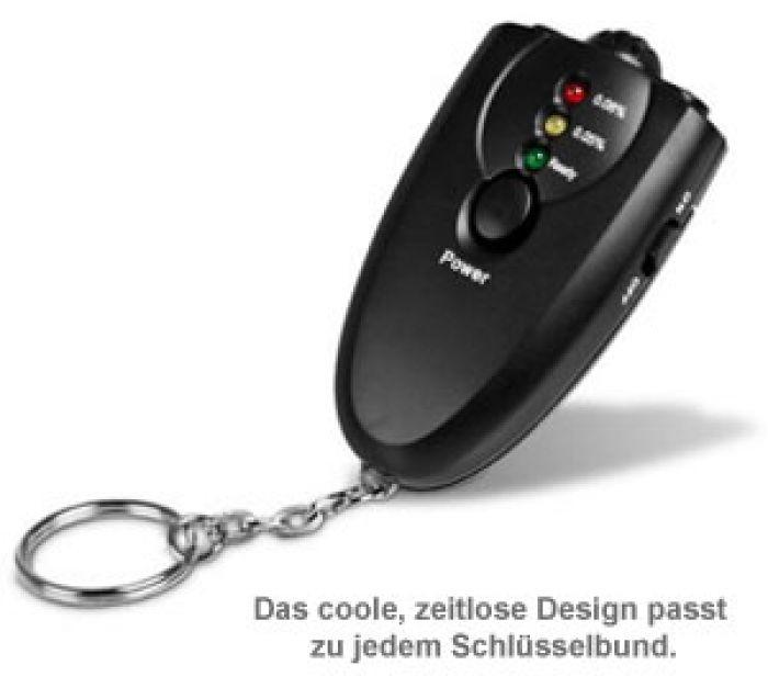 Alkoholtester - Schlüsselanhänger