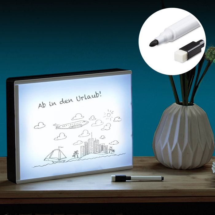 Leuchtkasten zum Zeichnen - LED Lightbox DIY
