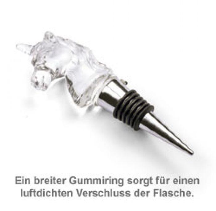 LED Flaschenverschluss - Einhorn