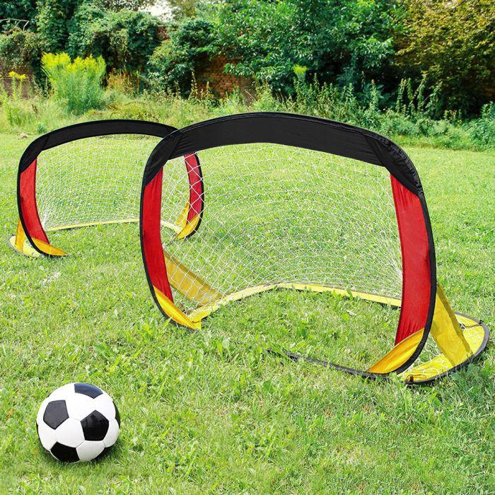 Pop Up Tor 2er Set - Fußballtore für den Garten