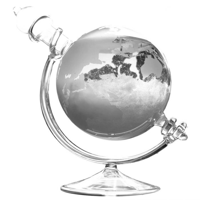 Verre de tempête pour prévisions météorologiques - Globe