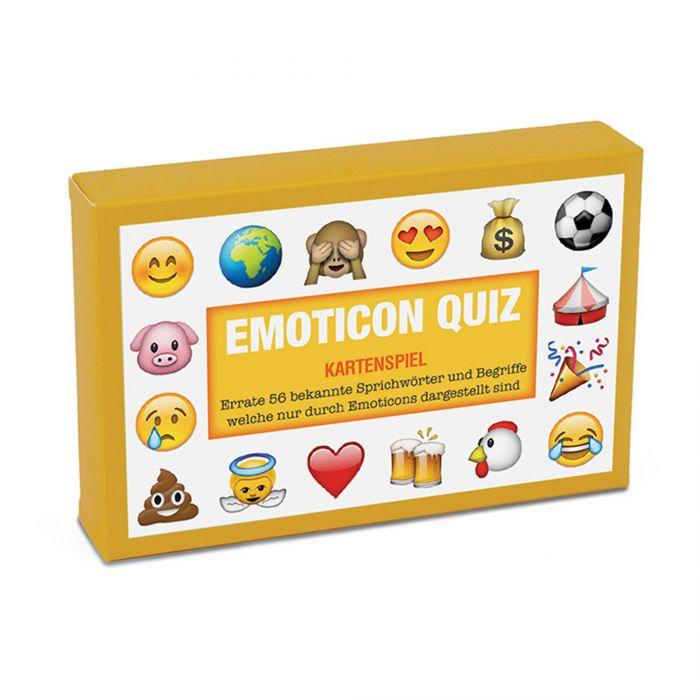 Emoticon Quiz - Kartenspiel