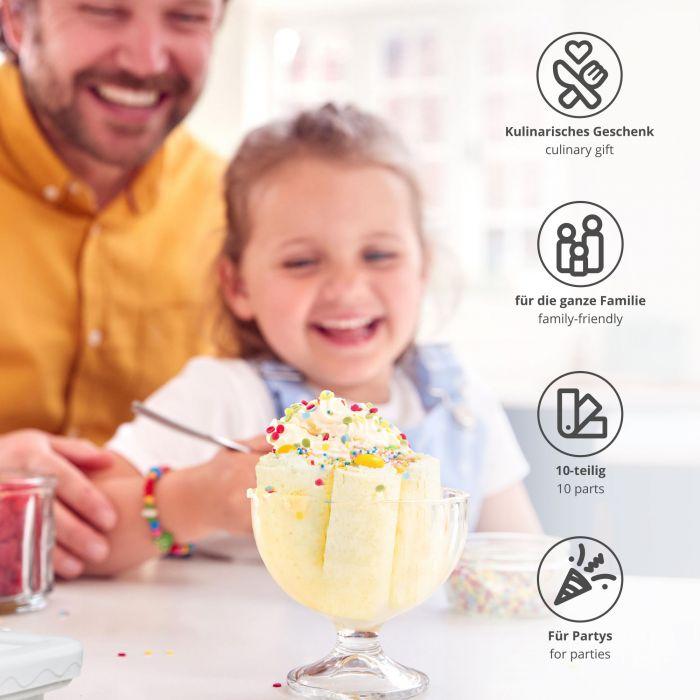 Rouleaux de glace maison - Kit DIY pour ice rolls
