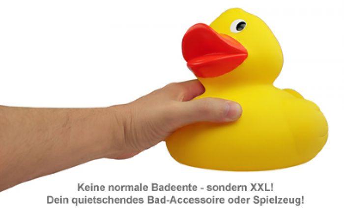 Quietscheente XXL - Badewannenspielzeug