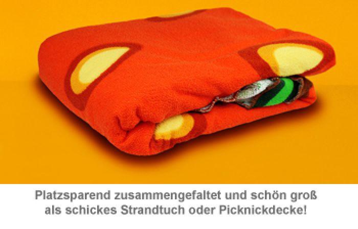 Erdbeer Handtuch