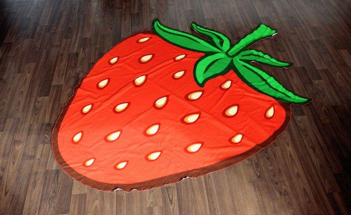 Serviette fraise
