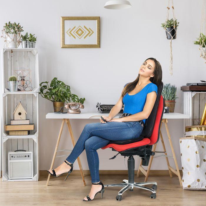 Massagematte mit Wärmefunktion - Sitzauflage Deluxe