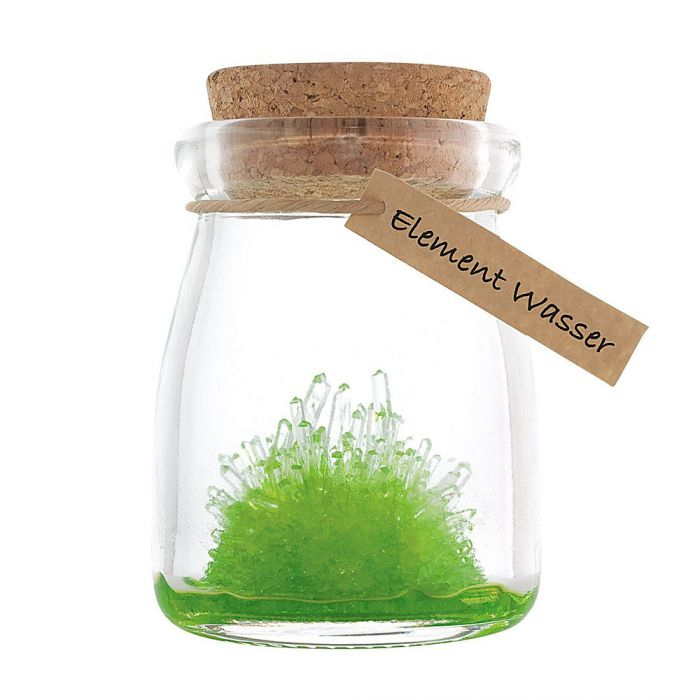 Kristalle züchten - Element Wasser