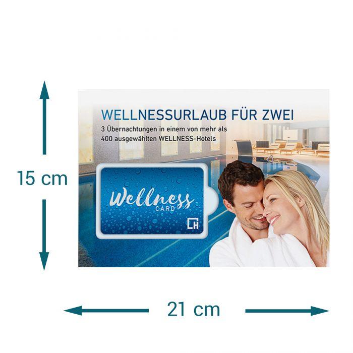 Wellness Kurzurlaub für Zwei - Hotelgutschein Card