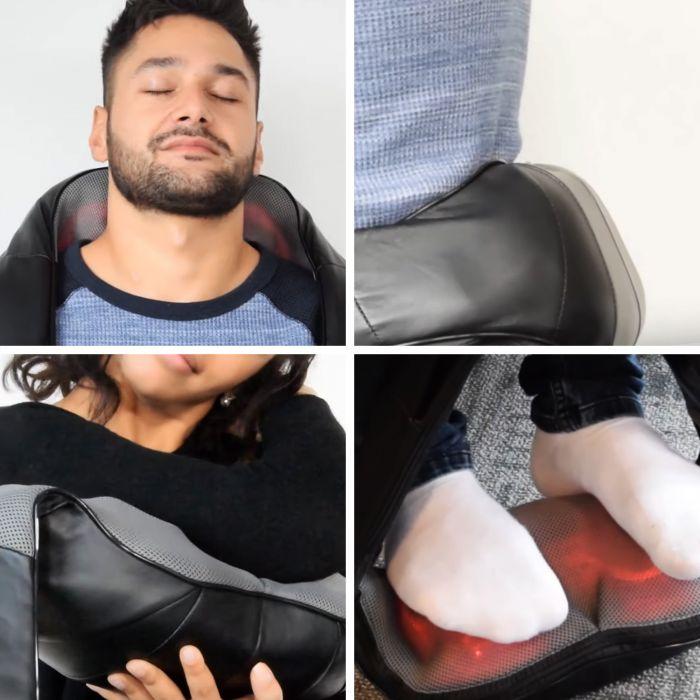 Nackenmassagegerät mit Tiefenwärme - Shiatsu