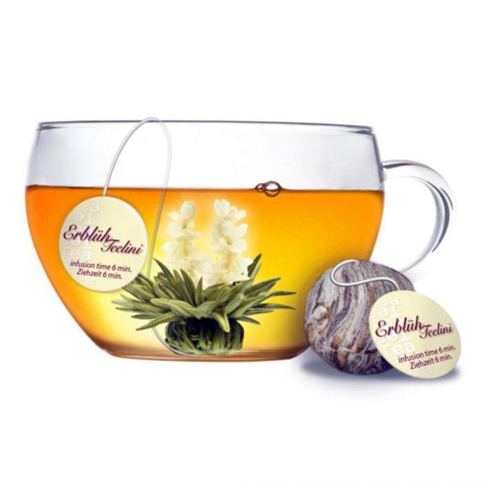 Weißer Tee - 8 Erblüh Teelini