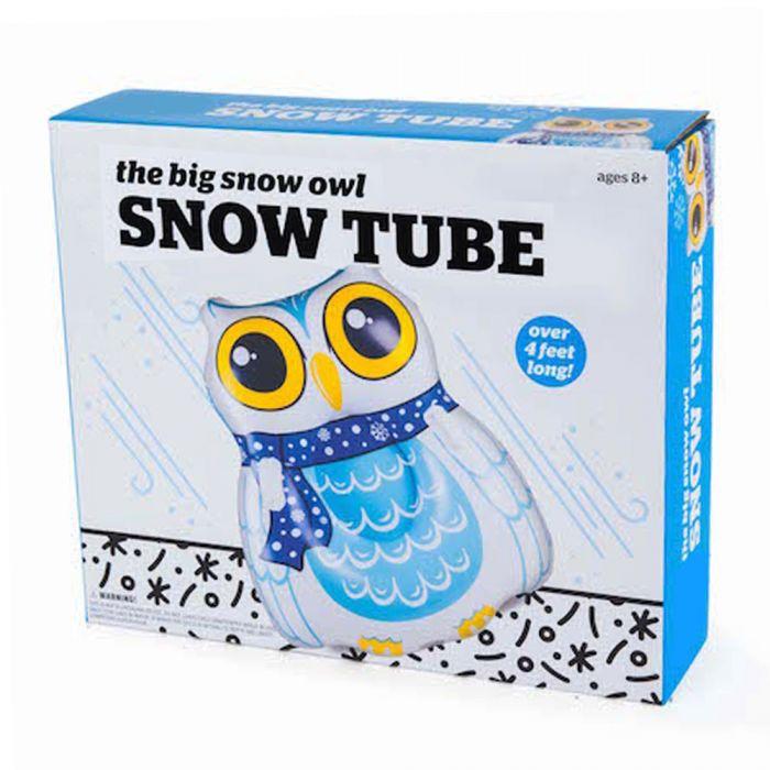 Snow Tube Eule - Aufblasbarer Schlitten
