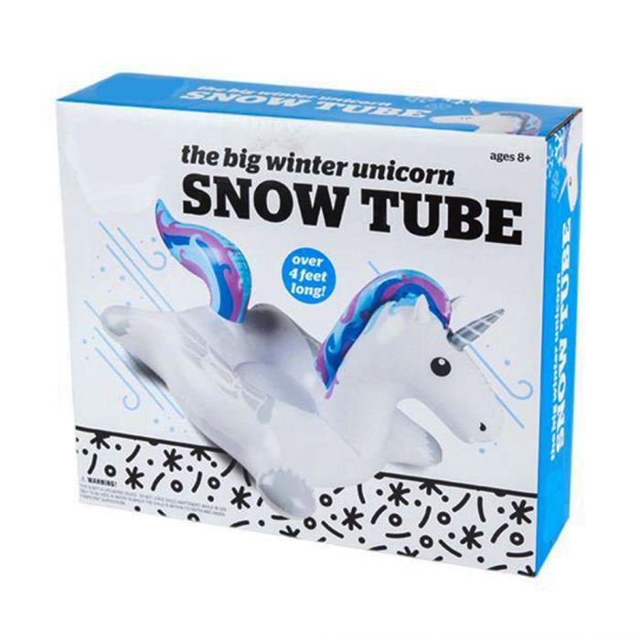 Snow Tube Einhorn - Aufblasbarer Schlitten