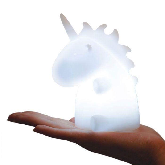 Einhorn Lampe - weiß