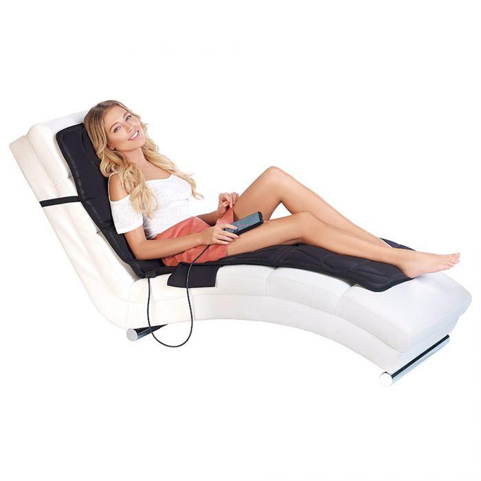 Massagegerät als Auflage mit Vibration und IR-Tiefenwärme