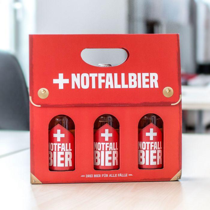 Bier Handtasche für Männer - Notfallbier