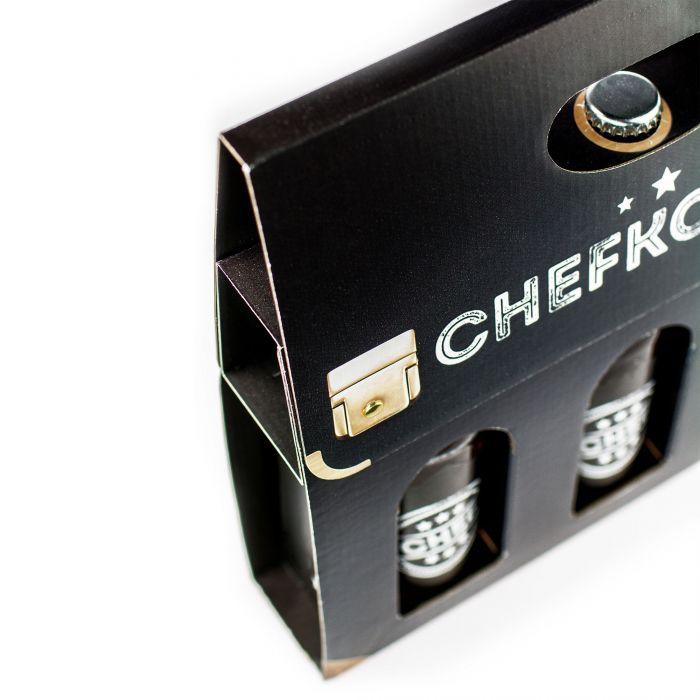 Bier Handtasche für Männer - Chefkoffer