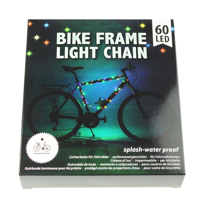 Fahrradrahmen LEDs