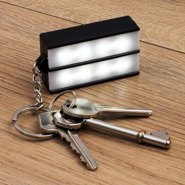 Schlüsselanhänger Mini LED Light Box