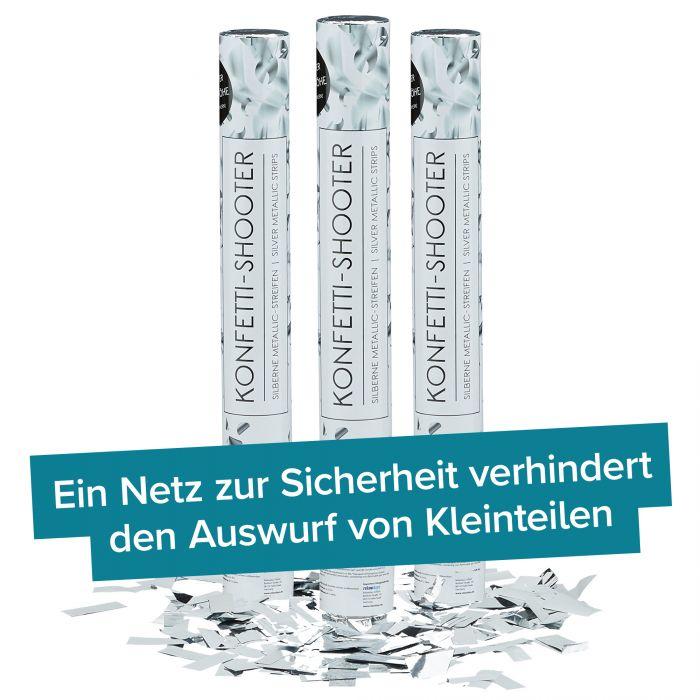 Konfettikanone - Silberregen