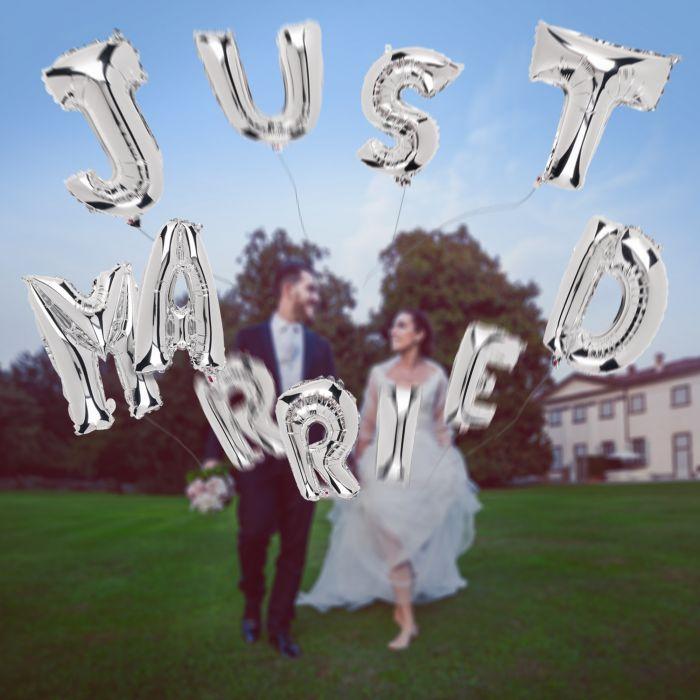 Hochzeitsballons - Just Married