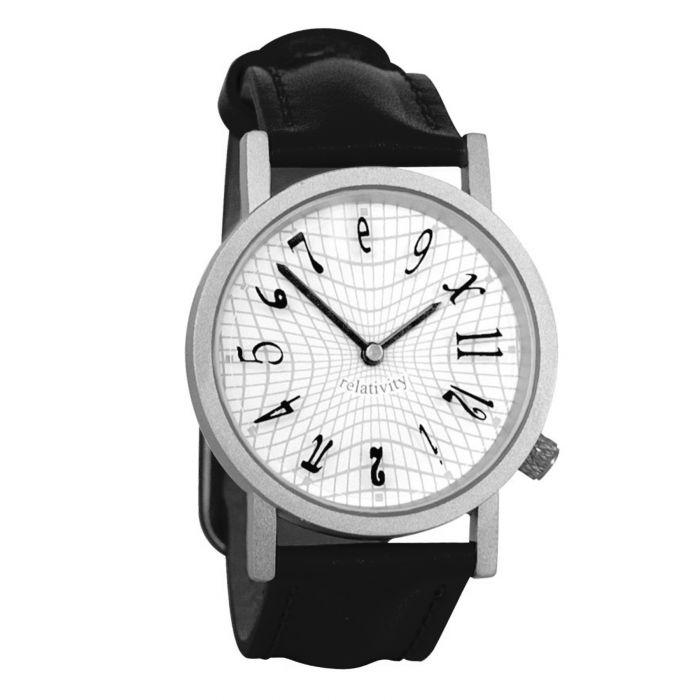 Armbanduhr Einsteins Relativitätstheorie - schwarz