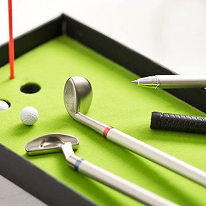 Golf Kugelschreiber Set