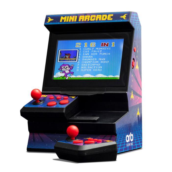 Retro Mini Spielautomat mit Dual-Controller